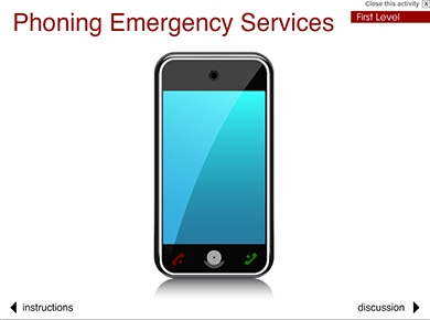 Image of Phoning Emergency Services