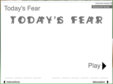 Image of Today's Fear