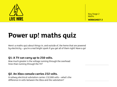 Image of Maths Quiz
