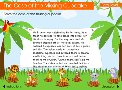 Image of The Case of the Missing Cupcake