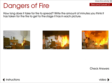 Go Safe Scotland : Fire Safety : Dangers of Fire