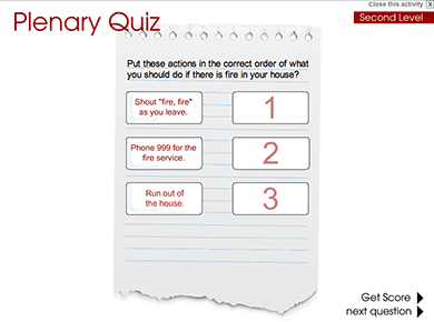 Image of Plenary Quiz