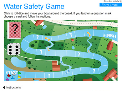 Image of Water Safety Board Game