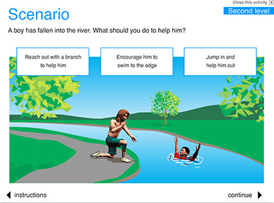 Image of Water Safety Scenarios