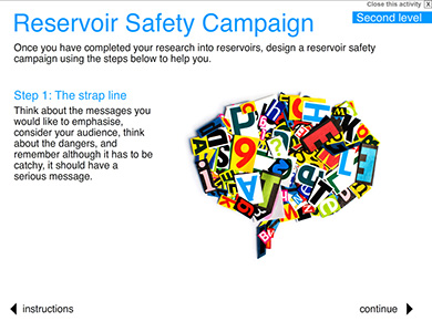 Image of Reservoir Safety Campaign