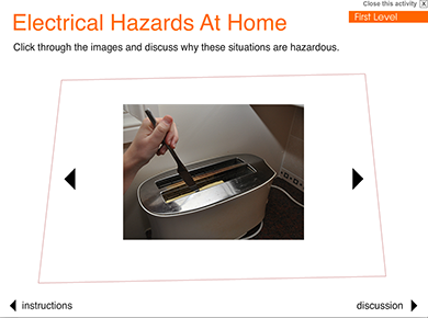 Image of Keeping Safe from Electrical Hazards at Home