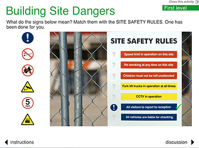 Image of Building Site Dangers