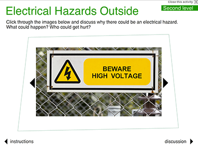 Image of Electrical Hazards Outside