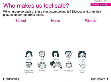 Image of Who makes us feel safe?