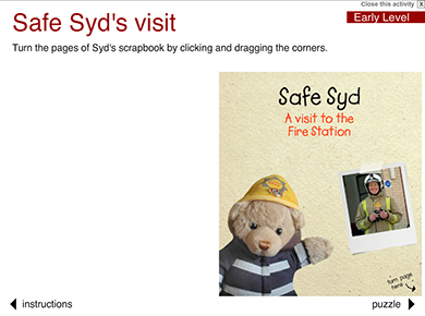 Image of Safety Syd's Visit