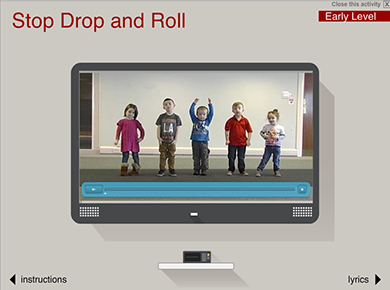 Image of Stop, Drop and Roll